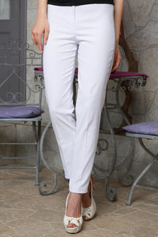 Белые хлопковые брюки Angela Ricci