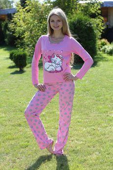 Пижама Кити: брюки на резинке и лонгслив FIORITA
